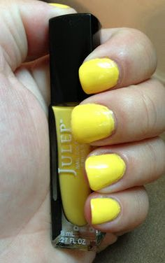Julep - Charlie (used x1 mani) $3   I almost kept this one.  I don't use yellow often, but this is a great shade.  It's not overwhelmingly bright, and it has great coverage (as well as a pleasant smell - not that I recommend sniffing your nail polish....lol!)