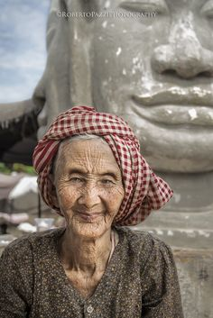 """Portrait of an elderly woman (Cambodia).  Visit http://robertopazziphotography.weebly.com, subcribe to the newsletter and download the ebook """"Street of the World"""" as welcome gift!  Web Site: http://robertopazziphotography.weebly.com Facebook: https://www.facebook.com/robertopazziphotography Instagram: Roberto_Pazzi_Photography"""
