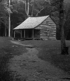 lonely cabin, yes please.