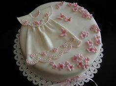 Christening Dress in Pink