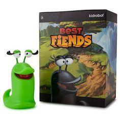 """Kidrobot Best Fiends Female Slug """"Lola"""""""