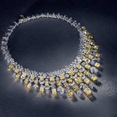 Breathtaking Beauty…A one-of-a-kind 163.40ct #GraffDiamonds Necklace