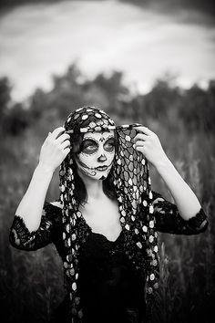 Dallas Portrait Photographer - Creative Shoot - Dia De Los Muertos