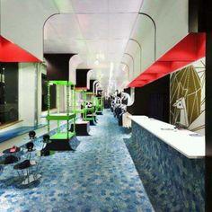 Loja Monki, em Estocolmo, Suécia. Projeto do escritório Electric Dreams. #moda #atitude #fashion #fashionattitude #lojaconceito #conceptstore #storedesign #interior #interiores #artes #arts #art #arte #decor #decoração #architecturelover #architecture #arquitetura #design #projetocompartilhar #davidguerra #shareproject #monki #estocolmo #stockholm #suecia #sweden #eletricdreams