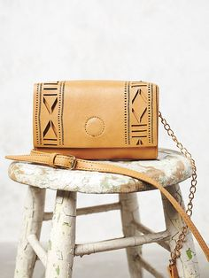 Free People Laser-Cut Crossbody at Free People Clothing Boutique
