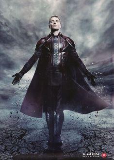 Michael Fassbender as Magneto, X-Men: Apocalypse Marvel Comics, X Men Comics, Marvel Xmen, Marvel Heroes, Storm Marvel, Marvel Art, Best Villains, Marvel Villains, Marvel Characters