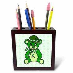 Janna Salak Designs Teddy Bears - St. Patricks Day Cute G…