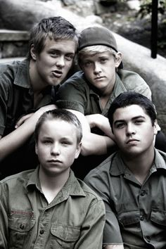 Emily's Army! Travis, Max, Cole, & Joey:) I am starting to really love them!