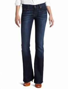 Amazon.com: 7 For All Mankind Women's A Pocket Flare Jean in Nouveau New York Dark: Clothing