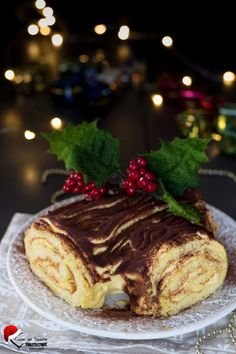 Victorian Christmas, Christmas Cookies, Italian Recipes, Sweet Recipes, Tiramisu, Good Food, Sweets, Chocolate, Cooking