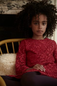 never too young for Dolce....  Stylist Bettina Vetter  Photographer Malin Ngoie