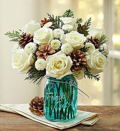 Winter Warmth™ from 1-800-Flowers.com are so gorgeous!