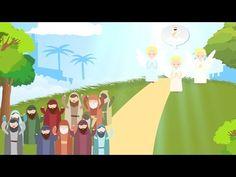 Animatie: Hemelvaart en Pinksteren uitgelegd in 1 minuut - YouTube