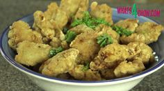 Chicharones di Pollo - Cuban style Chicken Nuggets. Crispy Deep-Fried Ch...