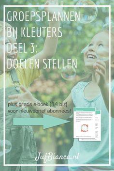 Groepsplannen bij kleuters - deel 3: doelen stellen School Info, Special Needs, Kids Gifts, Coaching, Kindergarten, Classroom, Teacher, Education, Children