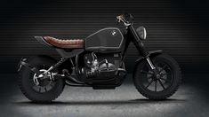 design by Juan Felipe Obando for rephael heilig, BMW Mystic, cafe racer, scrambler