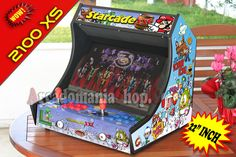 Starcade 2100 IN 1 XS 22 inch Classic Arcade Edition