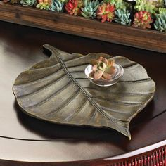 Avery Leaf Decorative Tray * To view further for this item, visit the image link.