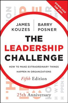 The Leadership Challenge: How to Make Extraordinary Things Happen in Organizations (J-B Leadership Challenge: Kouzes/Posner) by James M. Kouzes http://www.amazon.com/dp/B008DM2MK8/ref=cm_sw_r_pi_dp_4q-qwb19AE0KW