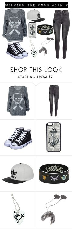 """BTS Imagine outfit"" by bangtanbombshell95 ❤ liked on Polyvore featuring H&M, CellPowerCases, adidas and Forever 21"