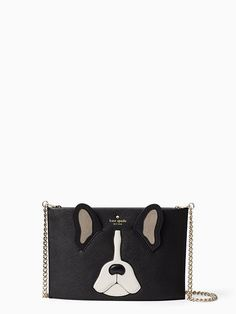 when the real deal just isn't an option, the ma chérie antoine sima is an adorable stand-in. slim and sleek with a zip-top closure and chain shoulder strap, this pup-friendly purse is as cool as it is cute.