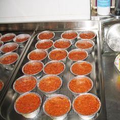 Pappa in preparazione Caviar, Grapefruit, Fish, Meat, Ichthys