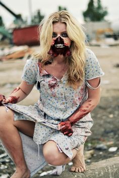 Breck Day Photography | Zombie inspired photo shoot | halloween costume