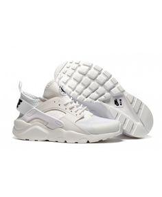 sale retailer 041a0 fff28 Femme Nike Air Huarache Tout Blanc Chaussures
