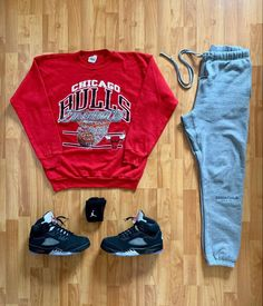 Discover recipes, home ideas, style inspiration and other ideas to try. Mens Fashion Wear, Tomboy Fashion, Dope Fashion, Dope Outfits For Guys, Swag Outfits Men, Cool Outfits, Jordan 5, Lesbian Outfits, Hype Clothing
