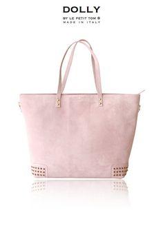 DOLLY Diaper bag MOCCASIN BAG DMBAG4 light pink suede