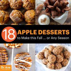Apple desserts - Dr. Axe