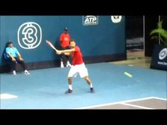 Grigor Dimitrov and Bernard Tomic--How to Hit the Pro Forehand