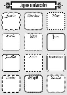 joyeuxanniversaire Lots of good printables. Organization Bullet Journal, Classroom Organization, French Teacher, Teaching French, French Worksheets, Core French, French Classroom, Printable Recipe Cards, French Resources