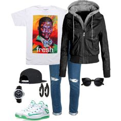 Untitled #802 by daegugod on Polyvore featuring polyvore, fashion, style, Neff, Paige Denim, Wenger, Matthew Campbell Laurenza, NIKE and clothing