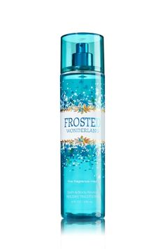 Frosted Wonderland - Fine Fragrance Mist - Bath & Body Works - Lavishly splash or lightly spritz your favorite fragrance, either way you'll fall in love at first mist! Our carefully crafted bottle and sophisticated pump delivers great coverage while conditioning aloe mist nourishes skin for the lightest, most refreshing way to fragrance!