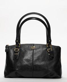 ac933f69b657 Coach Madison Leather Small Bag.  198. www.coach.com