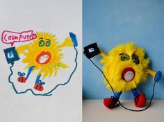 turning-kids-childrens-drawings-into-plush-toys-dolls-11 - Google 検索