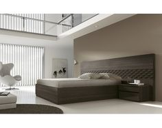 Dormitorio de matrimonio hecho en melamina