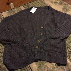 Brandy Melville knit cardigan Brand new Brandy Melville knit cardigan • no trades Brandy Melville Sweaters Cardigans