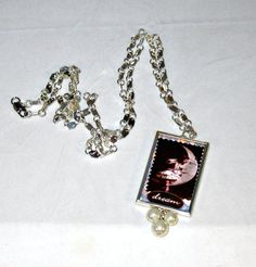 Dream and Believe Picture Frame Necklace by blingbychristine, $17.00