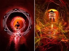 Incredible Light Painting
