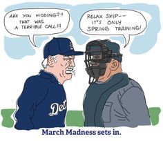 The madness! -Leave it to the Dodgers. Lets Go Mets, Braves Baseball, Spring Training, Spring Sign, March Madness, Detroit Red Wings, World Of Sports, Detroit Tigers, Atlanta Braves