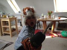 Hjææææælp en tiger....en Morgan