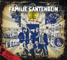 album cover art: familie gantenbein - schön u schlau [2012]