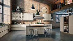 cuisine ouverte industrielle