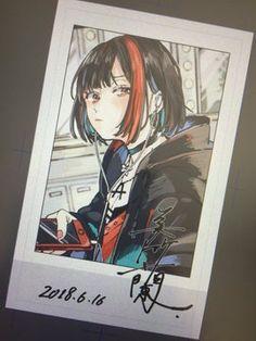 Girls Anime, Kawaii Anime Girl, Baguio, Cartoon Sketches, Cute Anime Pics, Girl Bands, Cute Art, Art Inspo, Art Reference