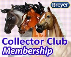 Breyer Collector Club One Year Membership