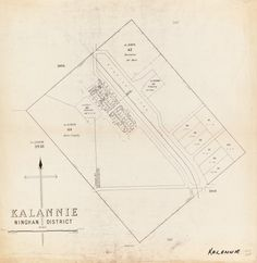 KALANNIE March 1956 Cadastral map showing land use. Part of collection: Townsite maps, Western Australia. https://encore.slwa.wa.gov.au/iii/encore/record/C__Rb1899443