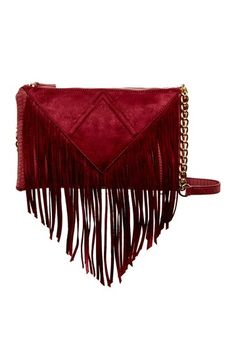 ff097ffc162afd Porter Fringe Crossbody by Steve Madden on @nordstrom_rack Fringe Trim, Purse  Wallet, Evening