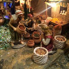 Christmas Nativity, Christmas Time, Holiday, Journey To Bethlehem, Fontanini Nativity, Biblical Art, Ceramic Houses, Xmas Crafts, Decoration